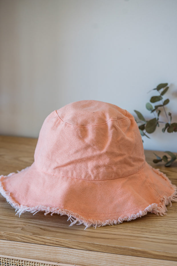 Darcy Frayed Hat - 3 Colours