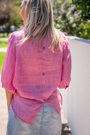 Arizona Shirt - Pink | Mabel and Woods | Women's Fashion