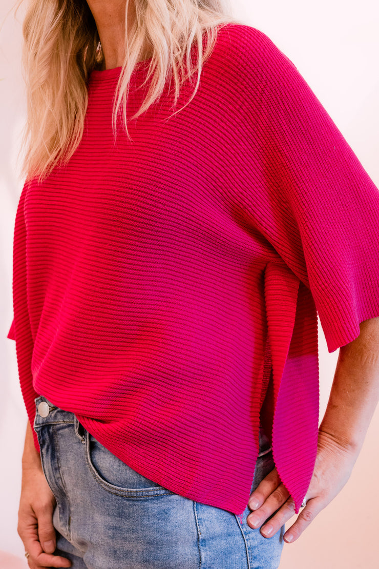 Seattle Knit - Pink | Mabel and Woods | Women's Fashion