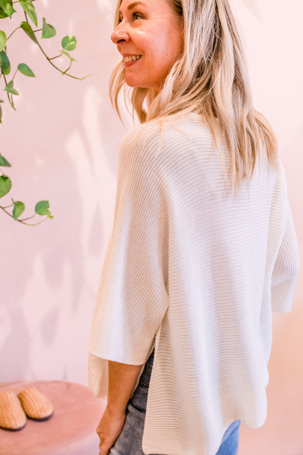Seattle Knit - Ivory | Mabel and Woods | Women's Fashion