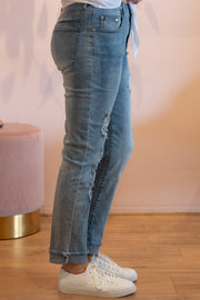 Niki Mom Jean - Blue | Mabel and Woods | Women's Fashion