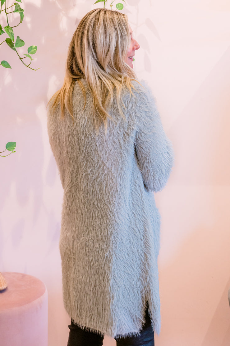 Jenna Cardigan - Dove | Mabel and Woods | Women's Fashion