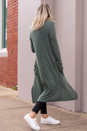 Westside Cardigan - Sage Green | Mabel and Woods | Women's Fashion