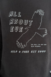 AAE Rise Again Eagle Crew - Washed Black