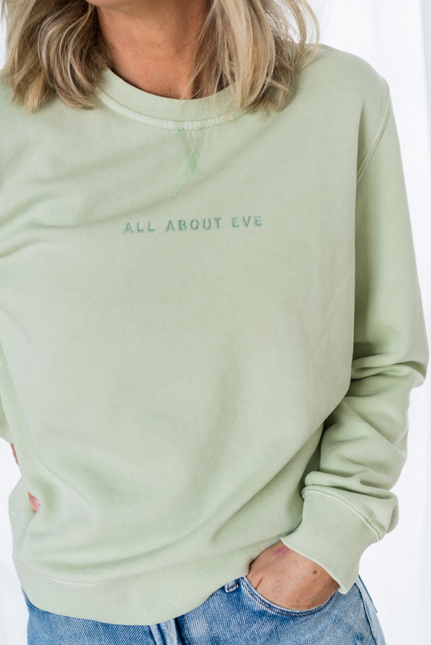 AAE Washed Crew - Light Green