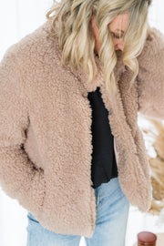 Teddy Coat - Beige