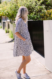 Hero Tunic Dress - White | Mabel and Woods | Women's Fashion