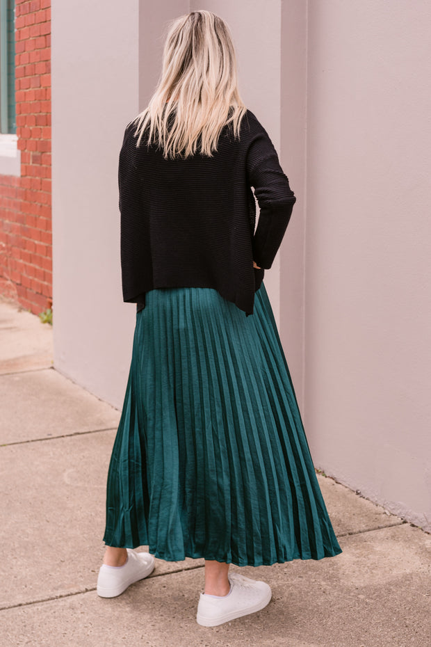 Emerald Skirt - Green | Mabel and Woods | Women's Fashion