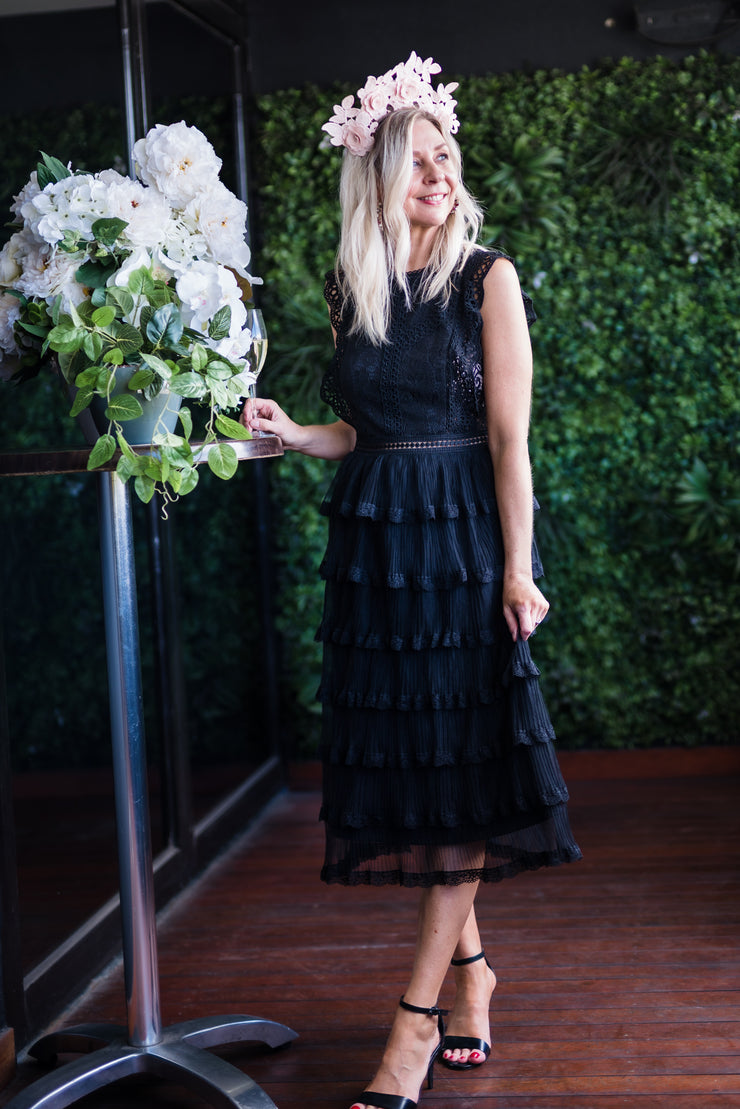 Be My Valentine Lace Dress - Black | Mabel and Woods | Women's Fashion