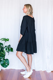 Mandi Tunic Dress - Black