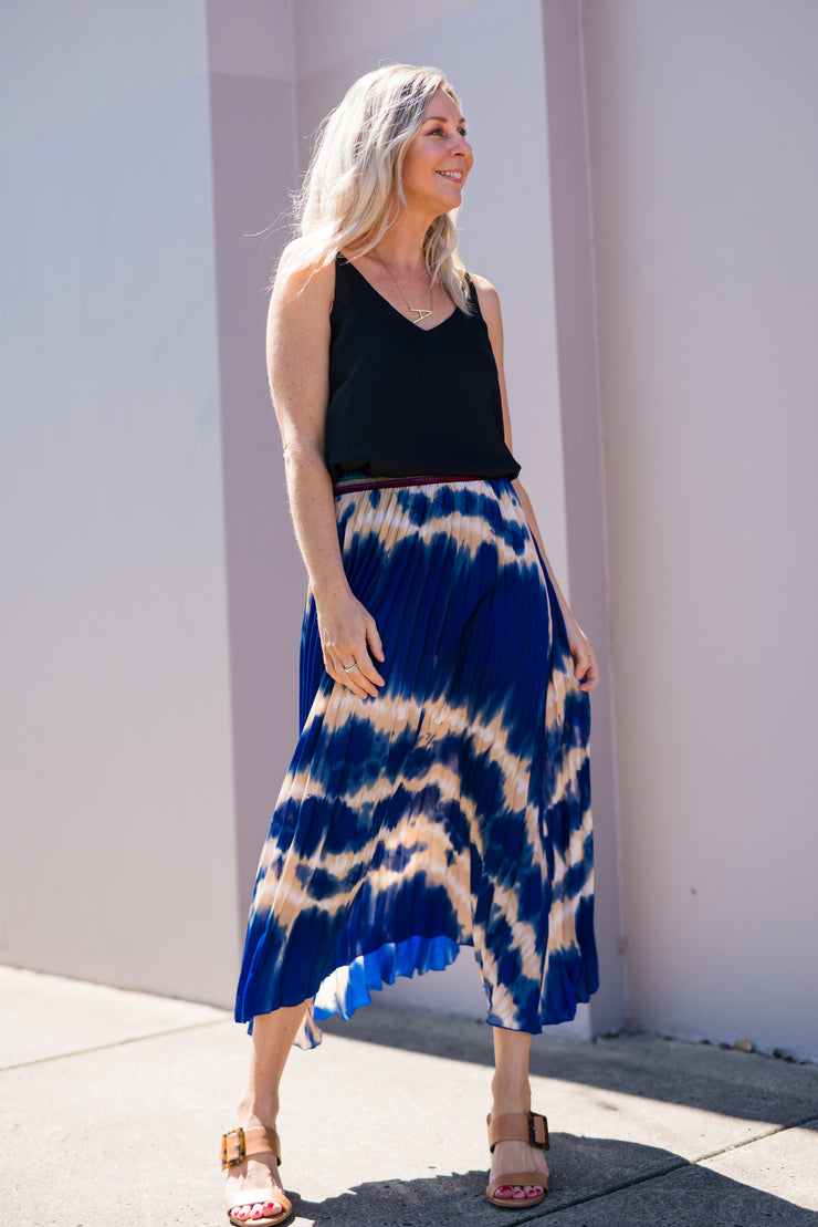 Skye Pleat Skirt | Mabel and Woods | Women's Fashion
