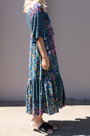 Nina Maxi Dress - Blue | Mabel and Woods | Women's Fashion
