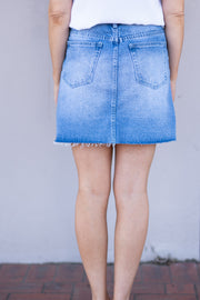 Devon Denim Skirt | Mabel and Woods | Women's Fashion