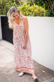 Sand Beneath My Toes Maxi Dress | Mabel and Woods | Women's Fashion