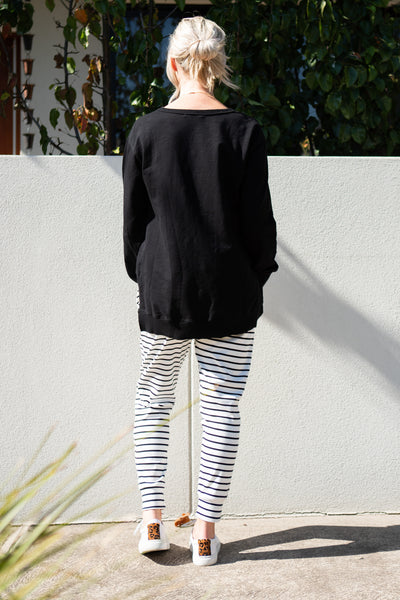3rd Story Ulverstone Sweater - Black