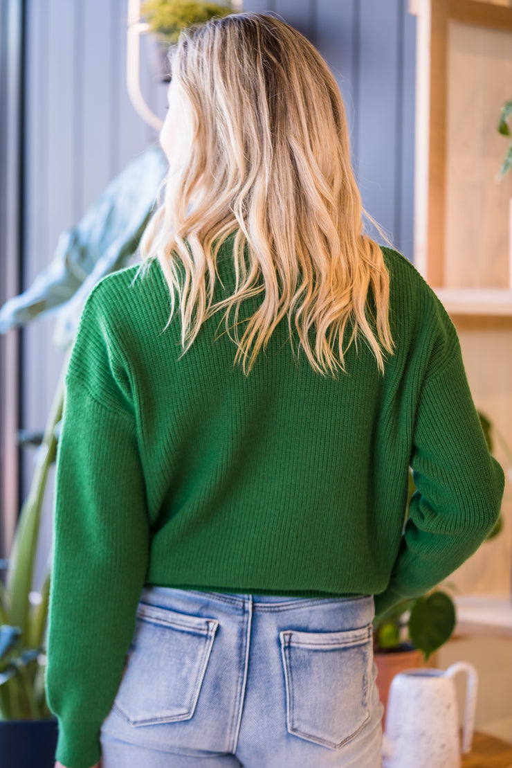 Ava Knit - Green | Mabel and Woods | Women's Fashion