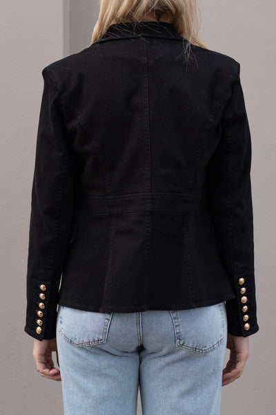 Demi Blazer - Black