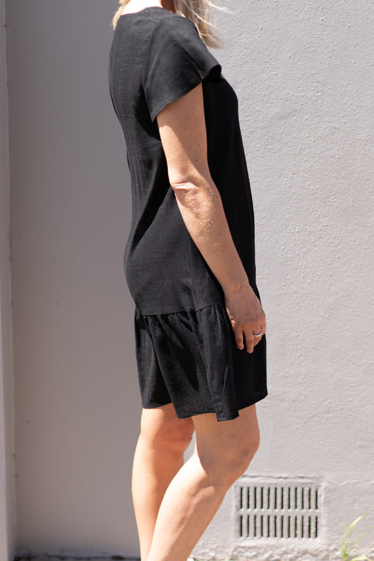 Annie Dress - Black | Mabel and Woods | Women's Fashion