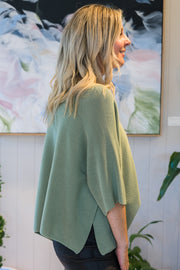 Seattle Knit - Sage | Mabel and Woods | Women's Fashion