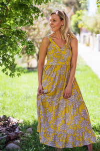 Byron Maxi Dress - Mustard