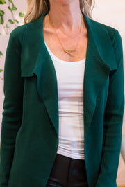 Josephine Cardigan - Emerald | Mabel and Woods | Women's Fashion