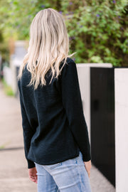 Sacha Knit - Black | Mabel and Woods | Women's Fashion