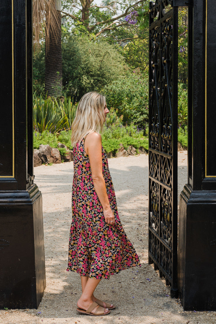 Marley Dress - Summer Floral | Mabel and Woods | Women's Fashion