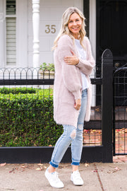 Jenna Cardigan - Blush | Mabel and Woods | Women's Fashion