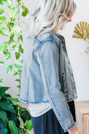 Fray Denim Jacket