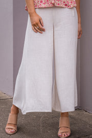 Maia Culottes - Natural | Mabel and Woods | Women's Fashion