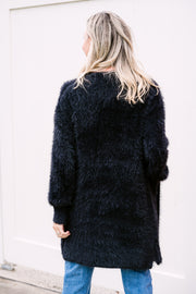 Jenna Cardigan - Black | Mabel and Woods | Women's Fashion