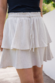 Santos Skirt - Natural | Mabel and Woods | Women's Fashion