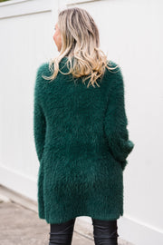 Jenna Cardigan - Emerald | Mabel and Woods | Women's Fashion