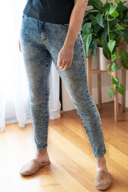 Monica Jeans - Blue Acid Wash