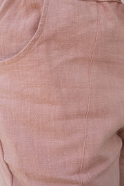 Ramie Pants - Salmon | Mabel and Woods | Women's Fashion