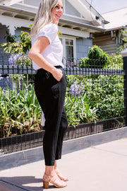 Friend of Mine Pant - Black | Mabel and Woods | Women's Fashion
