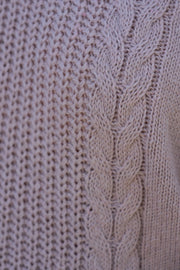 Cedela Cable Knit - Blush | Mabel and Woods | Women's Fashion