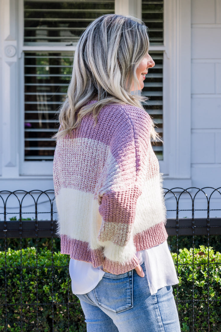 Charlie Crop Knit | Mabel and Woods | Women's Fashion