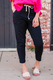 Ramie Pants - Black | Mabel and Woods | Women's Fashion