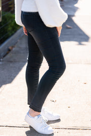Amber Jeans - Washed Black | Mabel and Woods | Women's Fashion