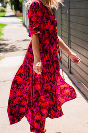Savannah Dress - Rose | Mabel and Woods | Women's Fashion