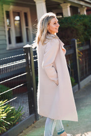 Pia Coatigan - Blush Beige | Mabel and Woods | Women's Fashion