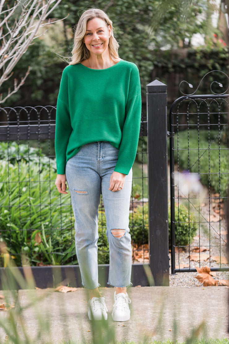 Kailey Knit - Green