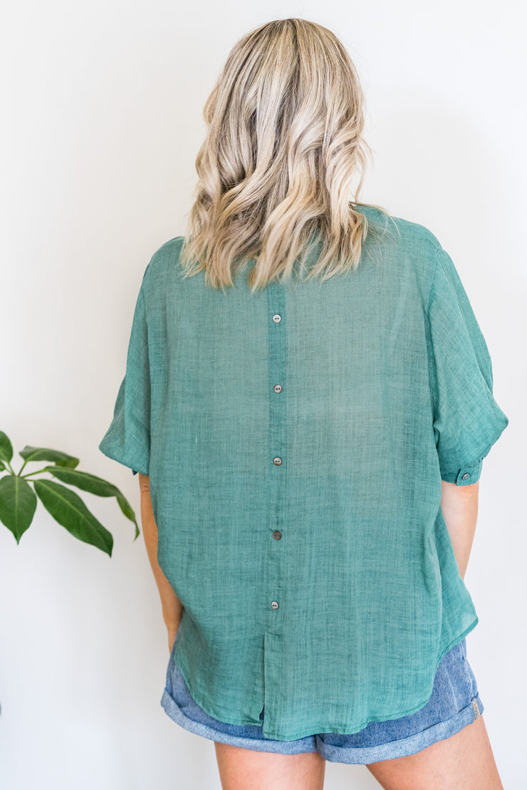 Arizona Shirt - Moss Green