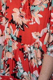 Ariana Dress - Floral