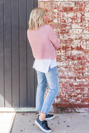 Jules Knit - Blush