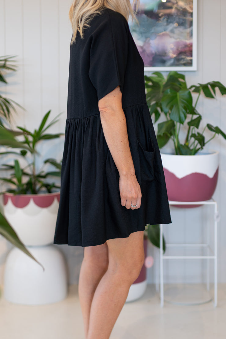Romee Dress - Black | Mabel and Woods | Women's Fashion