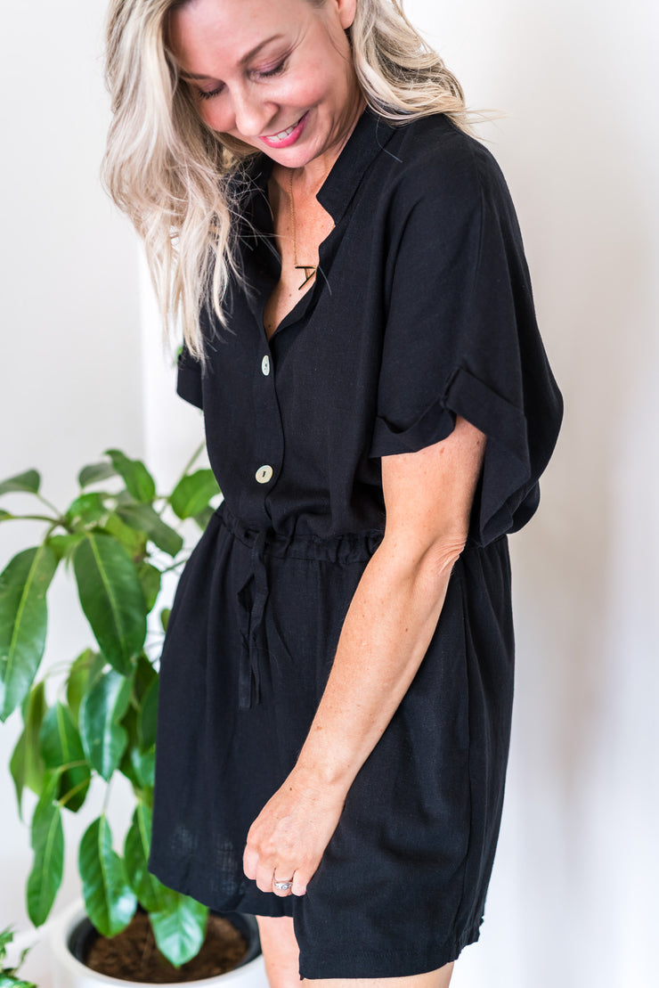 Erica Jumpsuit - Black
