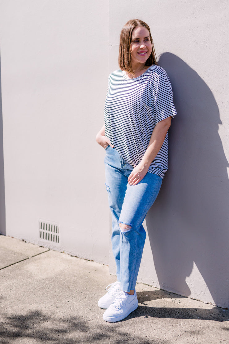 The Bella Tee | Mabel and Woods | Women's Fashion