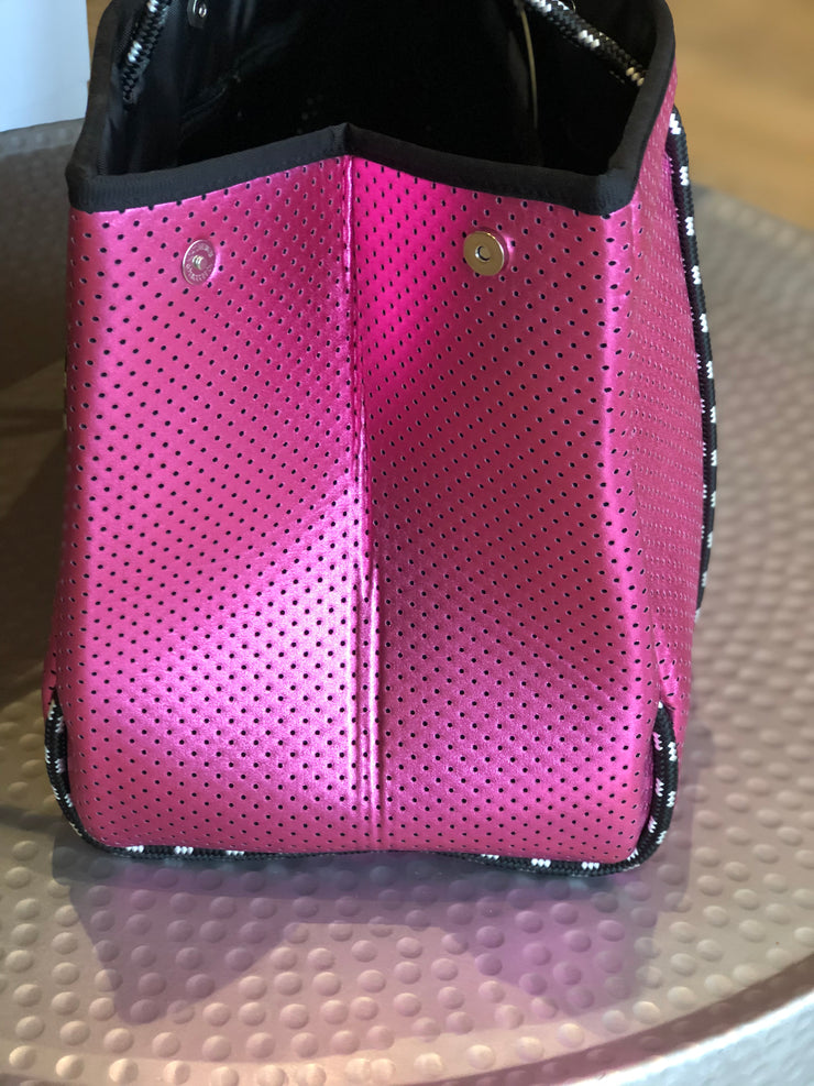Morgan Metallic Pink Bag | Mabel and Woods | Women's Fashion